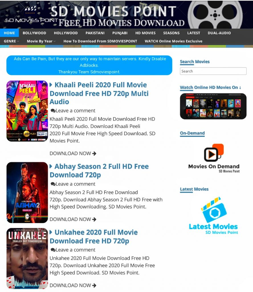 SD Movies Point 2020, Bollywood SD Movies Point 2020, Hollywood SD Movies Point 2020, Punjabi SD Movies Point 2020, Tollywood SD Movies Point 2020, Pakistani SD Movies Point 2020, Web Series SD Movies Point 2020, How to Download Movies from SDMoviesPoint,